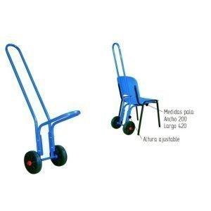 transporte de sillas