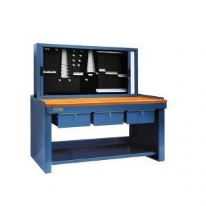 Mesa de Taller Mecánico, herramientas