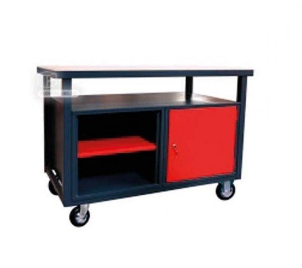 Mesa de Trabajo con Ruedas, carro herramientas taller mecanico