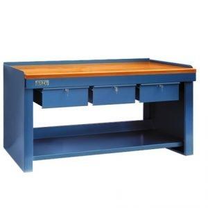 mesa de trabajo herramientas
