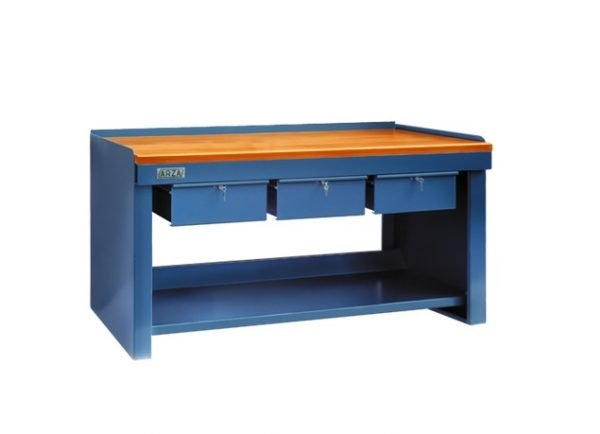 Mesa de Trabajo Industrial, herramientas