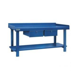 mesa trabajo industrial taller mecánico