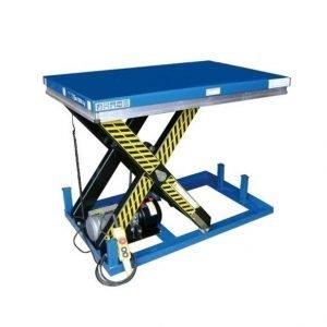 mesa eléctrica de carga