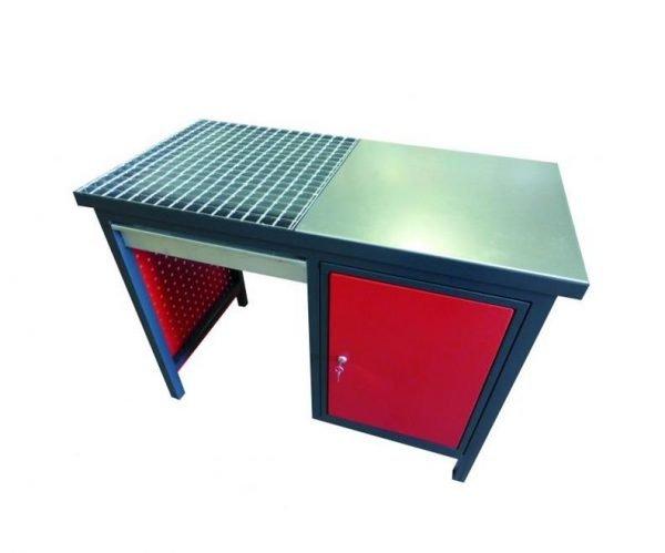 mesa de soldadura para trabajos de soldar